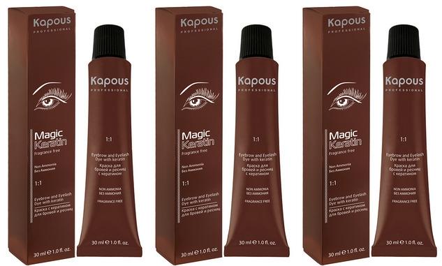 "Краска для бровей и ресниц Kapous Серии ""Non Ammonia"""