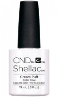 CND Shellac UV Гелевое покрытие #91744 Cream Puff, 15 мл