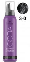 292053 IGORA Color Expert Mousse 3-0, Тёмный коричневый натуральный, 100 мл