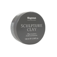 Kapous Глина для укладки волос нормальной фиксации «Sculpture Clay»,100 мл.